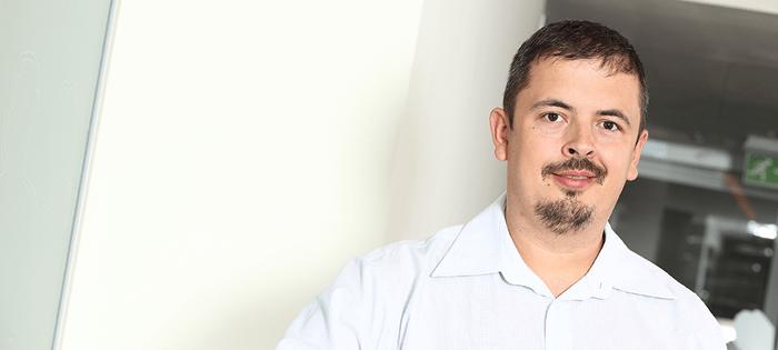 Tudor Galoș la evenimentul de lansare Windows 10 în România